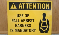 Safety fall-arrest