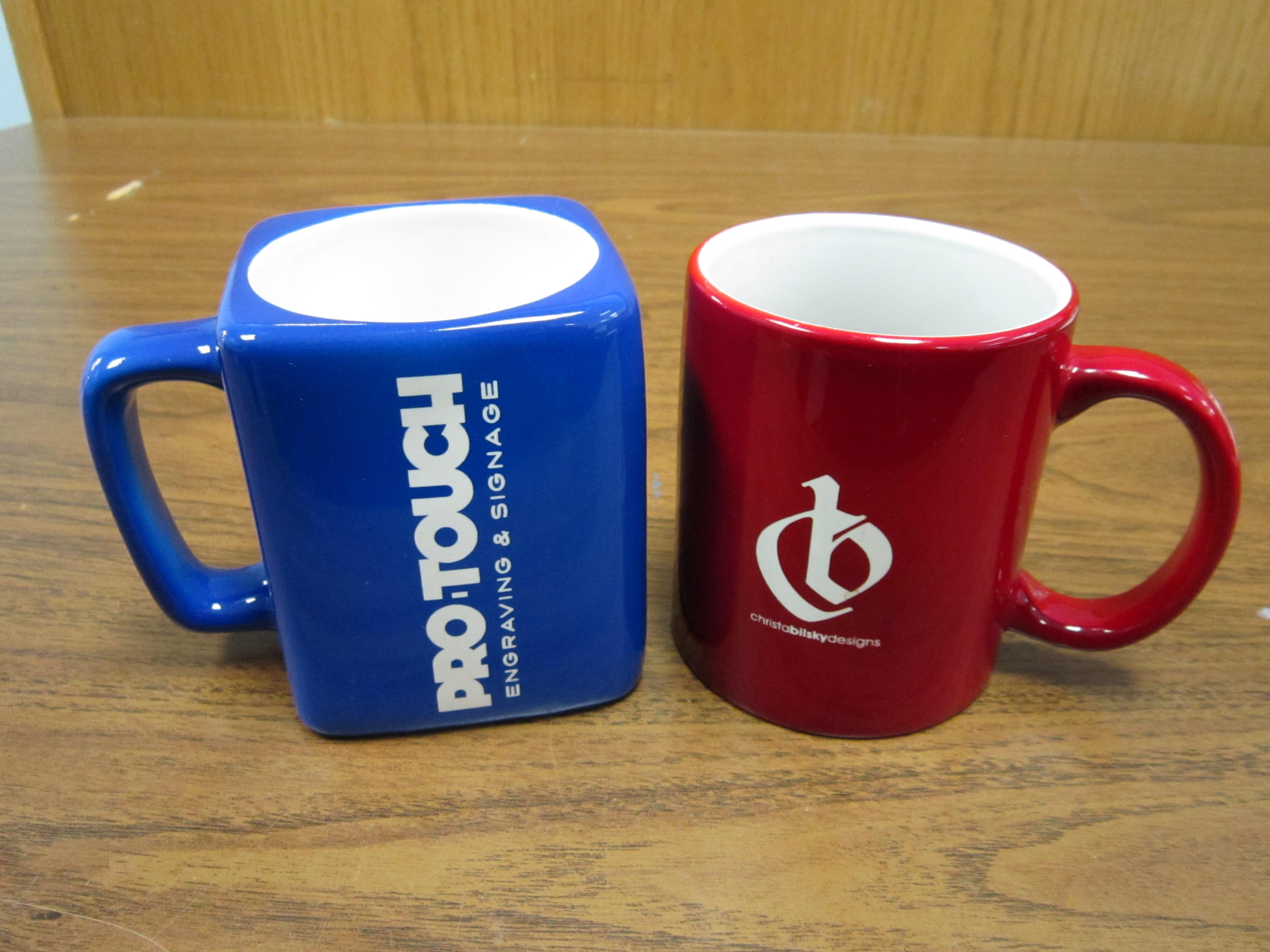 mugs with logo