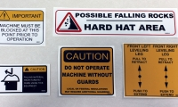 various-safety-stickers